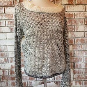 NWT Chelsea&Violet Sparkle Sweater Sz M